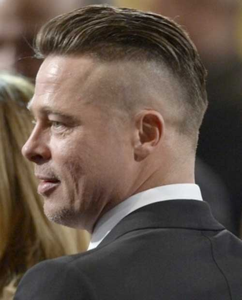 Brad Pitt Haircut Back View
