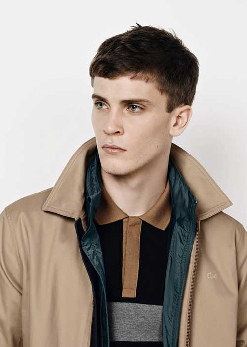 Cool Brown Colored Hair for Men