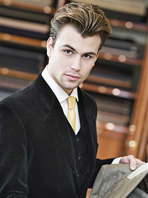 Business Slicked Haircuts for Men