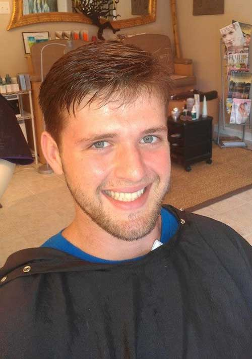Casual Men Fringe Hairstyles