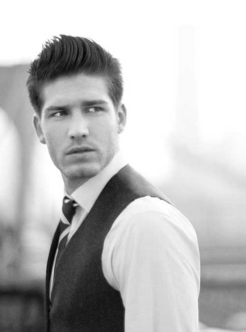 Casual Modern Cut for Men Hairstyles