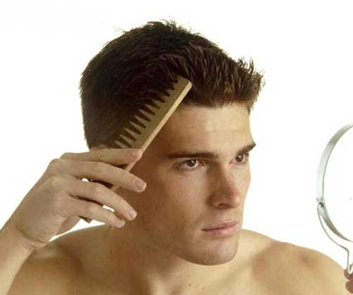 Comb Spiky Men Hairstyles