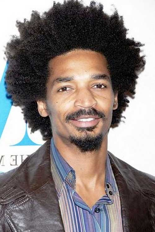 Cool Black Men Afro Haircuts
