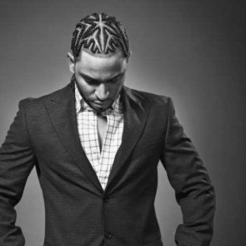 Cornrow Long Hairstyles for Men