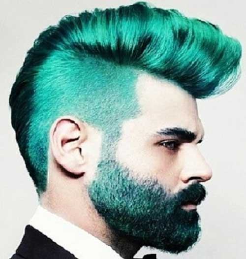Crazy Men Hair Color Ideas