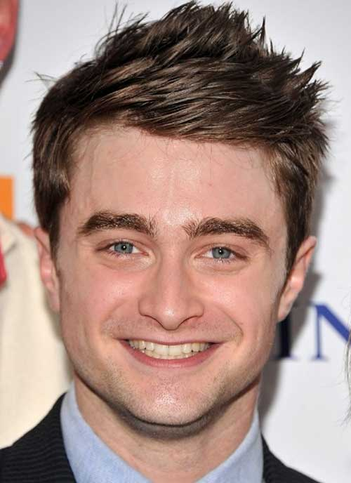 Daniel Radcliffe Spiky Men Hair