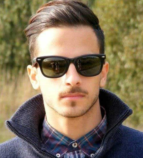 Best Dark Brown Hair for Men Undercut Modern Style