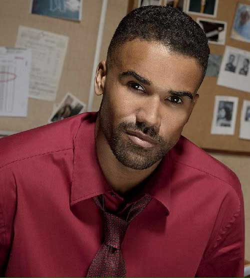 Derek Morgan Black Men Haircut