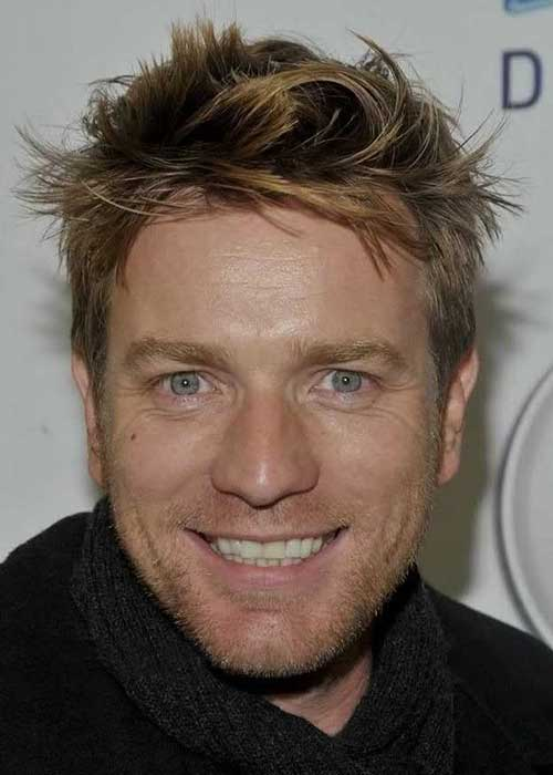Ewan McGregor Spiky Hairstyles