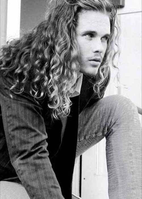 Good Haircuts for Men Long Curly Hairstyles