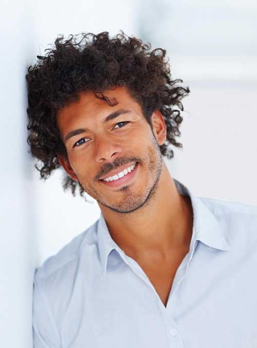 Haircuts Black Men Curly Hair Mens Hairstyles