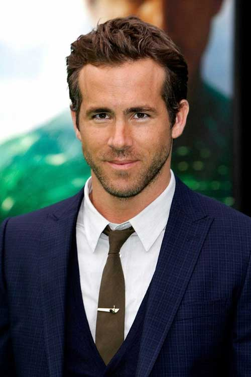 Ryan Reynolds Hollywood Hairstyles Men