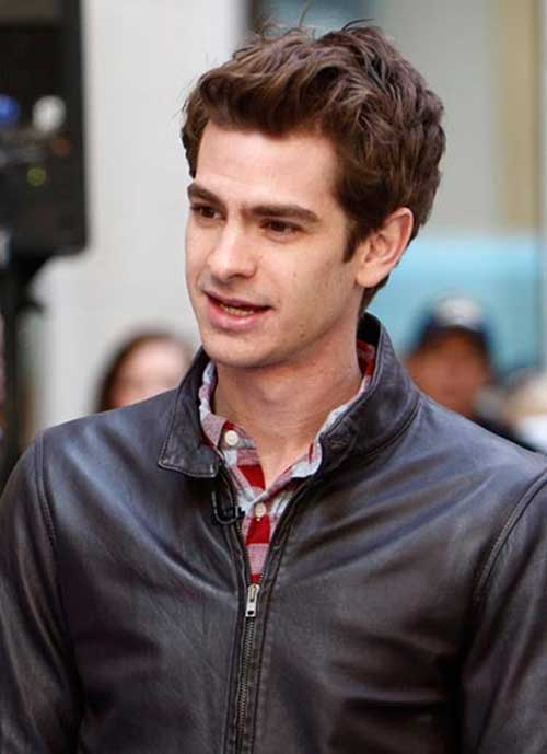 Andrew Garfield Hollywood Mens Hairstyles