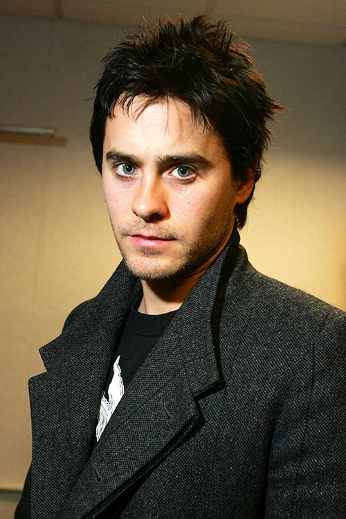 Jared Leto Spiky Hair