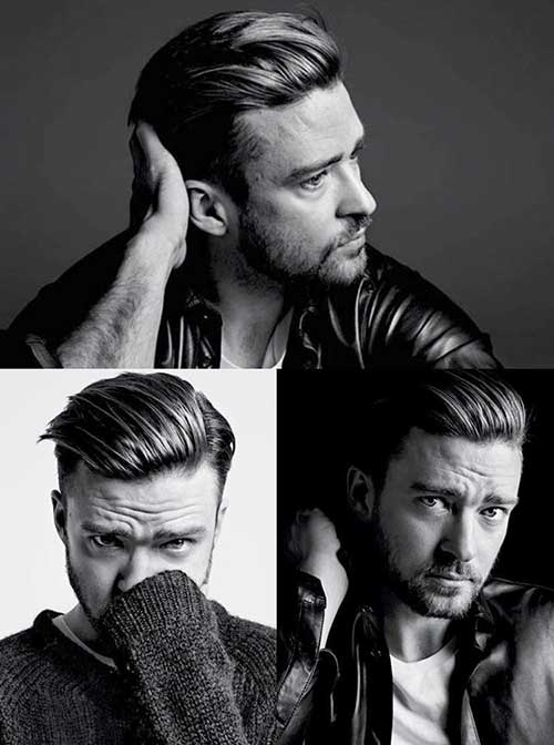 Justin Timberlake Modern Short Hairstyles for Men