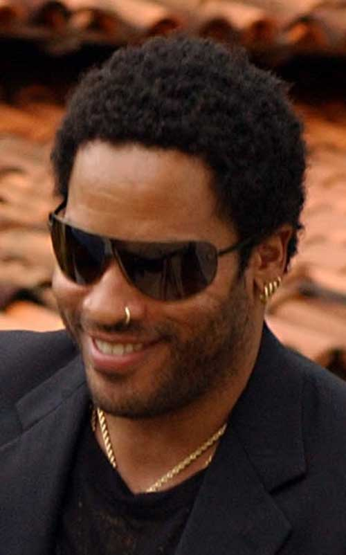 Lenny Kravitz Hairstyles for Black Men
