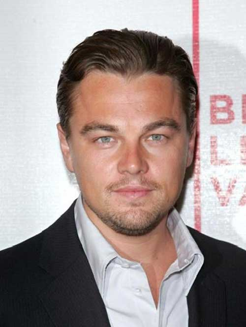 Leonardo DiCaprio Hollywood Mens Hairstyles