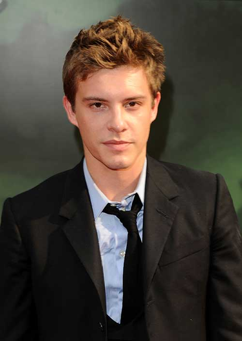 Xavier Samuel Light Brown Hair for Guys