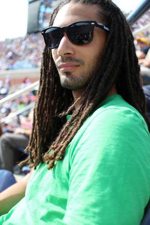 Long Dread Styles for Black Men
