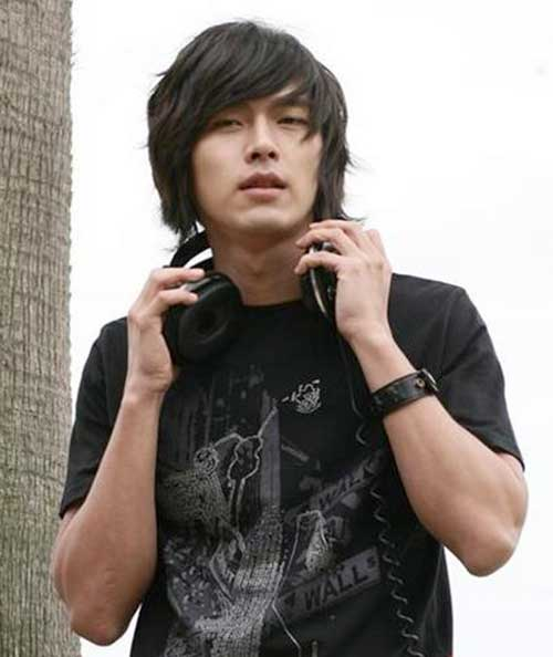 Long Fringe Hairstyles for Asian Men