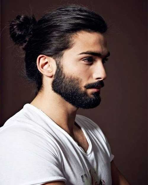 Mens Ponytail Hairstyles
