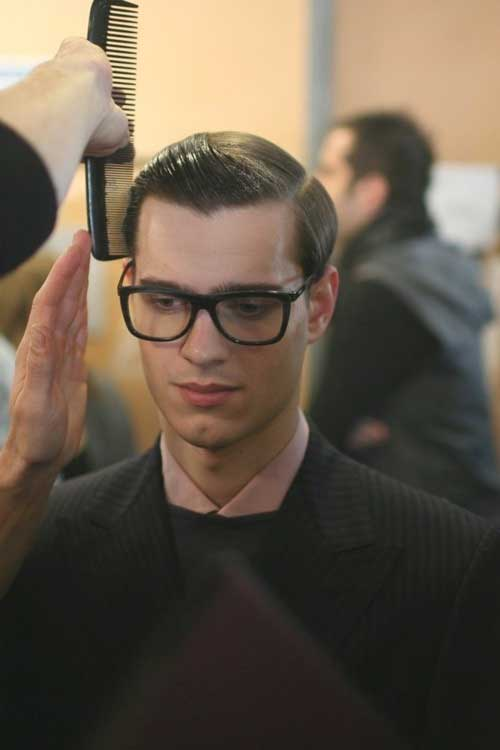 Men Classic Slicked Back Hairstyles
