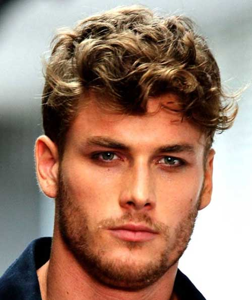Men Curly Fine Good Haircut