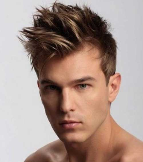 Best Men Haircuts with Spikes