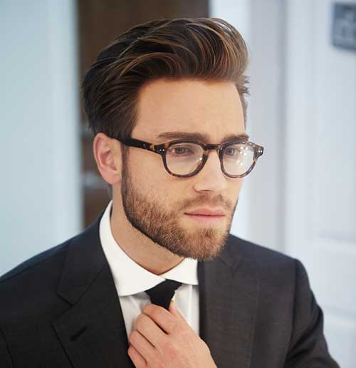 Great Men Simple Cut Short Hairstyles