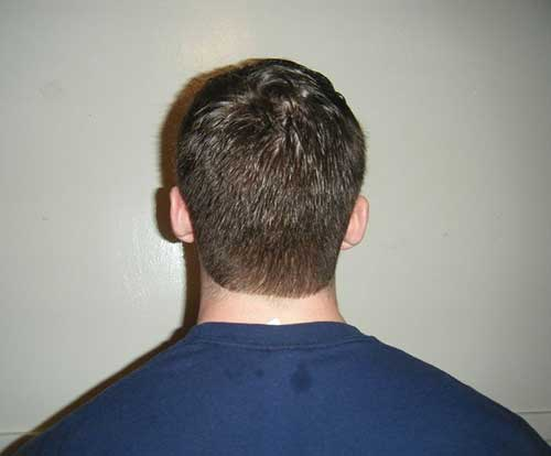 Mens Short Haircuts Back View