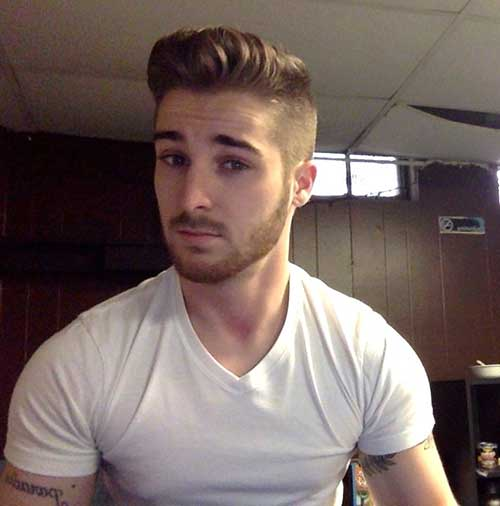 short back long front hairstyles : Side Haircut for Mens Mens Hairstyles 2016