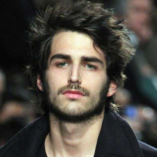 Best Messy Dark Hair for Men