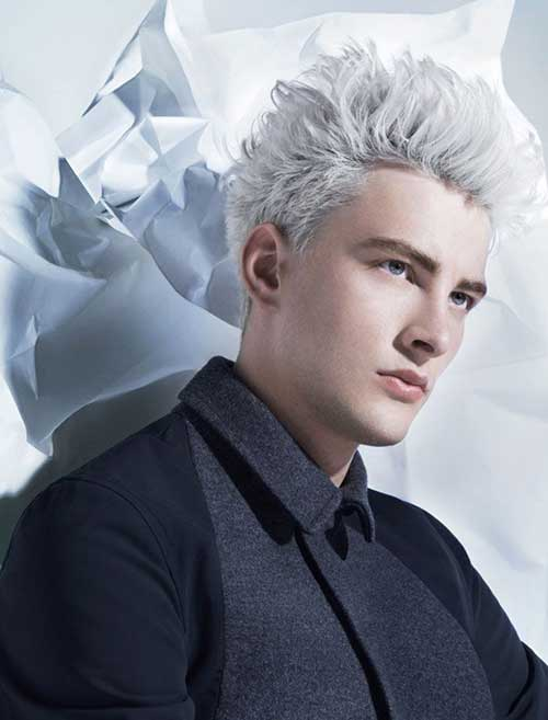 Platinum Blonde Hair for Men