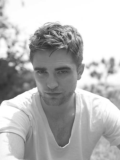 Robert Pattinson Hollywood Men's Hair