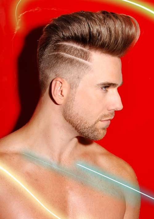 Side Shaved Mohawk Hair for Men