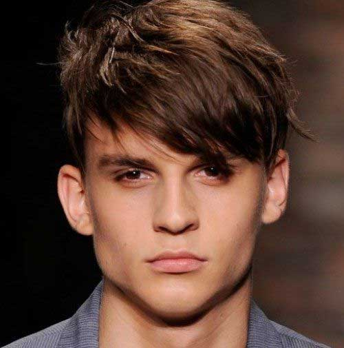 Short Cut Straight Men Hairstyles