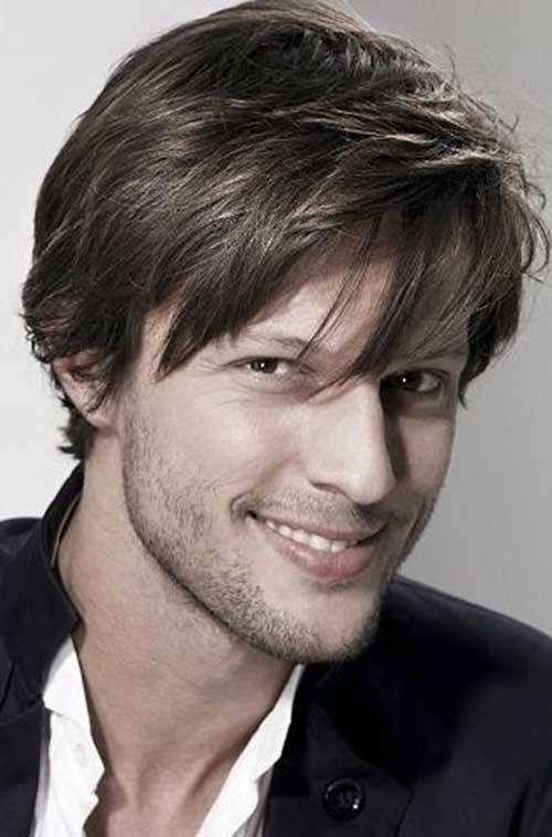 Best Short Hair for Men Straight Hairstyles