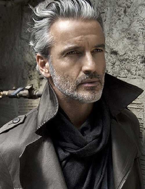 Short Modern Older Mens Hairstyles