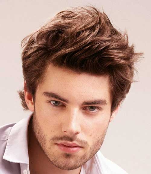 Simple Messy Hairstyles for Boys