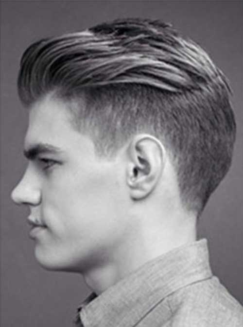 Mens slick back haircut