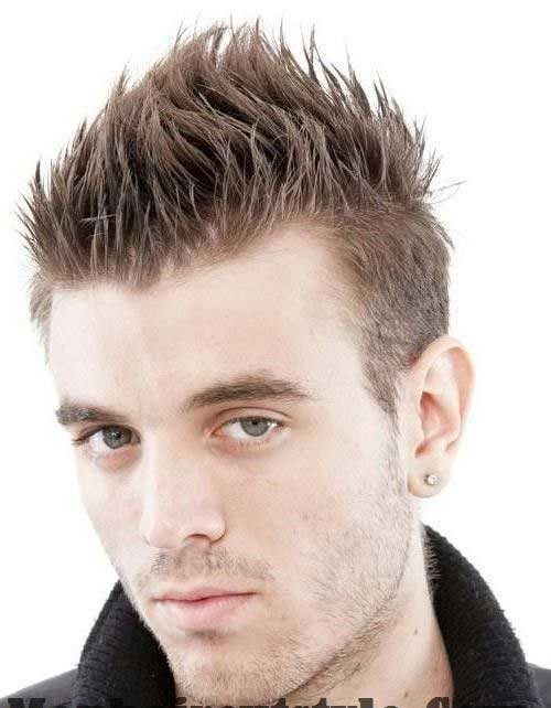Spiky Different Mens Haircuts