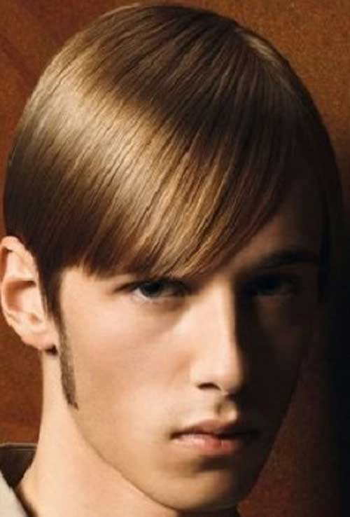 Straight Hair with Short Hairstyles for Men