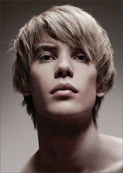 Straight Shaggy Hairstyles for Men