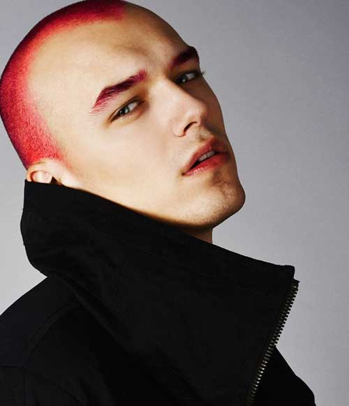10 Red Hair Color For Men Mens Hairstyles 2018