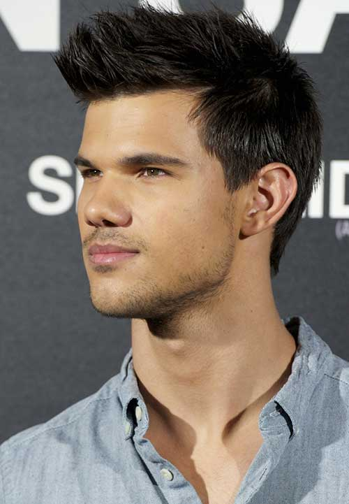 Taylor Lautner Spiky Short Haircut