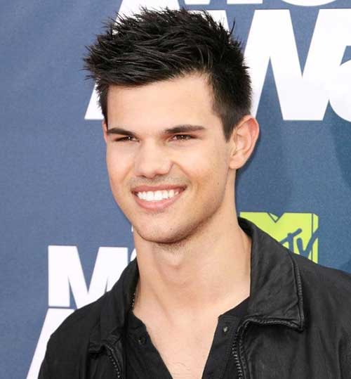 Taylor Lautner Spiky Men Hairstyles