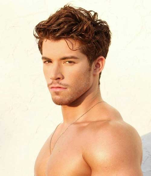 Trendy Light Brown Hairstyles for Guys