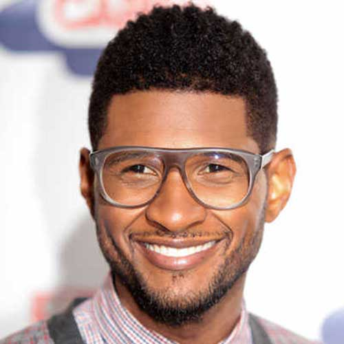 Usher Haircut for Curly Hair 2014