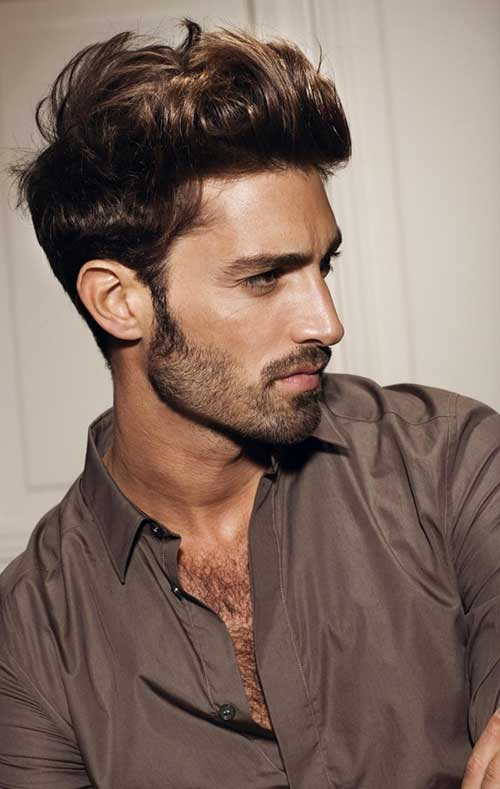 Best Messy Short Cut Hair Idea for Men