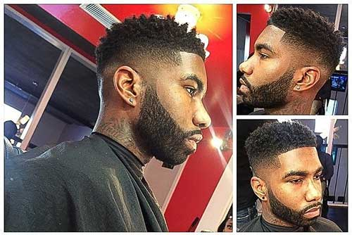 Fabulous 10 Black Male Fade Haircuts Mens Hairstyles 2016 Hairstyles For Men Maxibearus